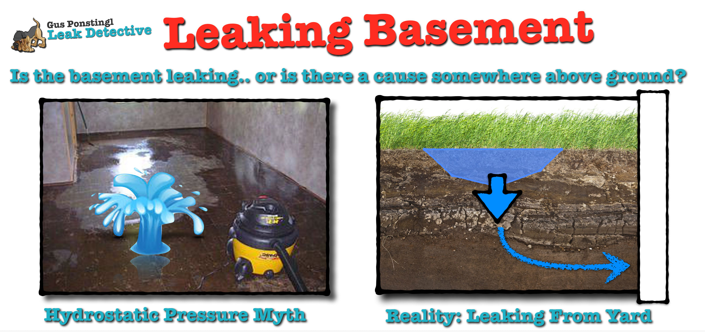 100 damp wet basement causes and correcting outdoor causes