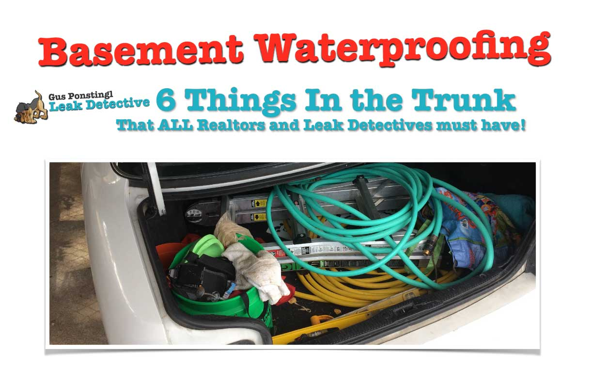 6 Very Useful Items Both A Real Estate Agent Leak Detective Basement Media Wiring Ld Things Trunk